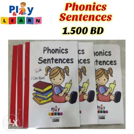 Phonics Sentences Book