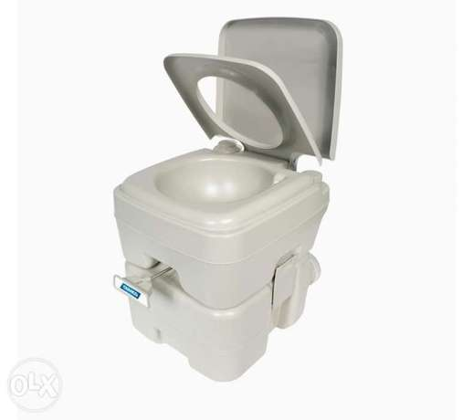 Portable Travel Toilet-Designed for Camping, RV, Boating and Other Rec