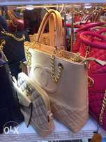 Elegant 3 in 1 Ladies Bag by Channel and Gucci