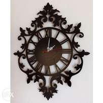 Large Wooden Wall Clock (Reference: xc001b