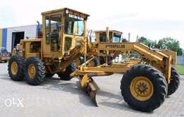 Worry no more about your Grader,excavator:earthmoving machines!
