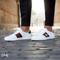 Gucci Ace Bee Sneakers - White