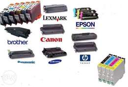 Toner & ink cartridges supply and refill
