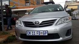 2013 Toyota Corolla 1.3 Professional Available for Sale
