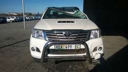 Roof Damage-Toyota 4x4 for sale