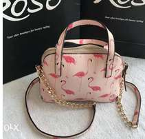 Pink like designer bag