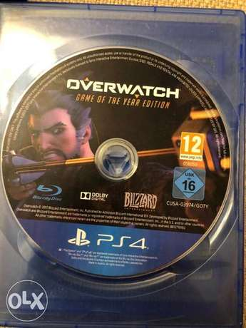 Overwatch Game of The Year Edition ps4&ps5