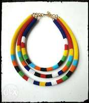 maasai beaded necklaces