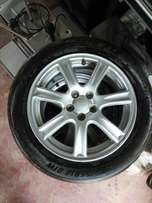 Subaru rims and tyres