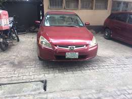 Registered Honda Accord EOD for sale