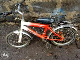 Children bicycles size16, and 20si