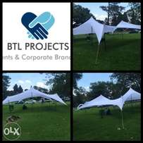 2 Stretch tents for R4500