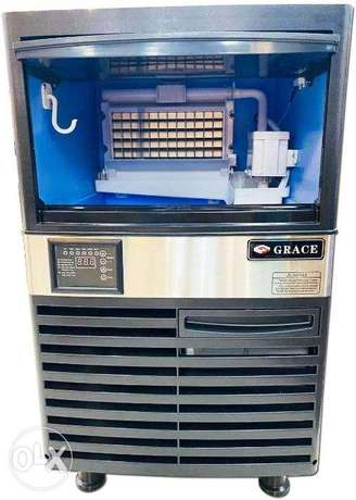 GRACE Commercial Ice Maker, Stainless Steel Ice Cube Machine 55kg/24h