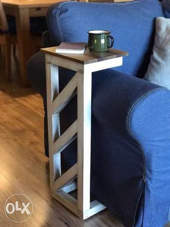Vintage Side Table, custom made, Brand New