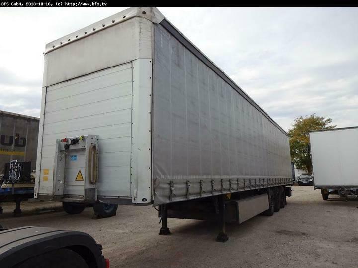 Schmitz Cargobull Sattelauflieger SCS 24 Schiebegardiene u002F Palette - 2012