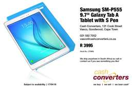 "Samsung SM-P555 9.7"" Galaxy Tab A Tablet with S Pen"