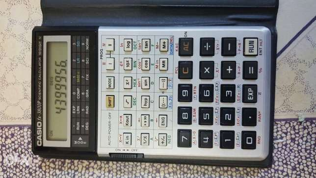 Casio FX3800P programable calculator