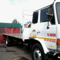 8 ton truck to hire with driver or for transport
