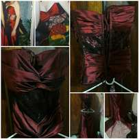 Ruby Red Matric farewell dress