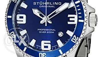 Stuhrling Original Men's 395.33U16 Aquadiver Regatta Analog Swiss Quar مصر الجديدة -  6