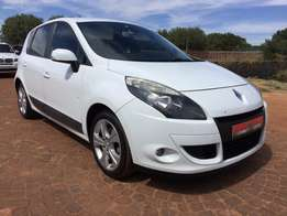 2011 renault scenic 1.6 expression with only 95000 kms