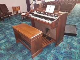 Hammond A100 Full Pedal, console, valve, church organ with Leslie