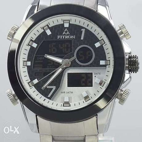 New Fitron watches with 1 year warranty card