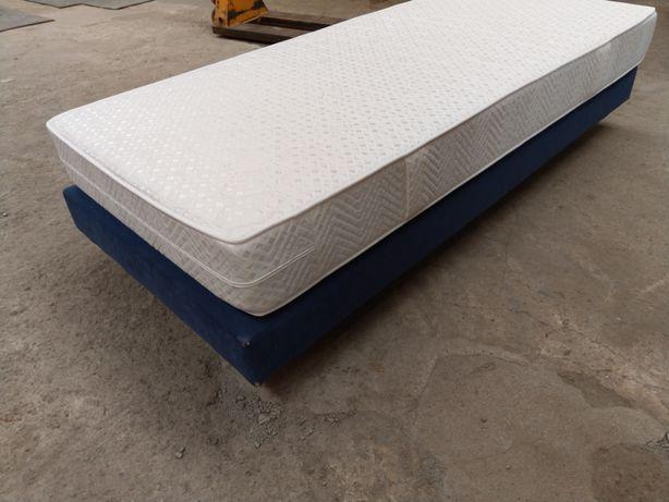 łóżko Hotelowe Tapczan Z Materacem 90x200 Tapicerowane żory