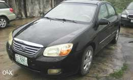 Kia cerato 2007 a/c is cooling very well fuel economy 4plug engine