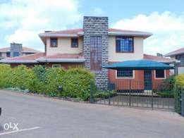 Fourways Junction Kiambu Rd 4 Bedroom Villa with DSQ