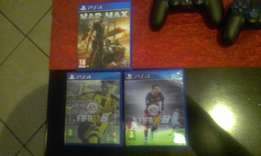 PS4 Fifa16 & Mad Max for sale