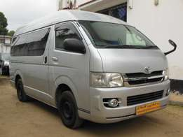 Toyota Hiace Van, Silver, 2009 Model for sale!