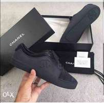 Black Chanel sneaks