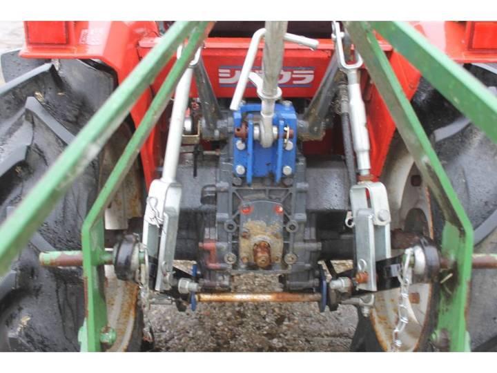 Shibaura P15F 4WD Mini Tractor Met Weidesleep En Schuif - image 14