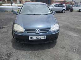 GOLF 5 2.0 Model 2007,5 Doors factory A/C And C/D Player