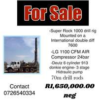 Drill Rig For Sale