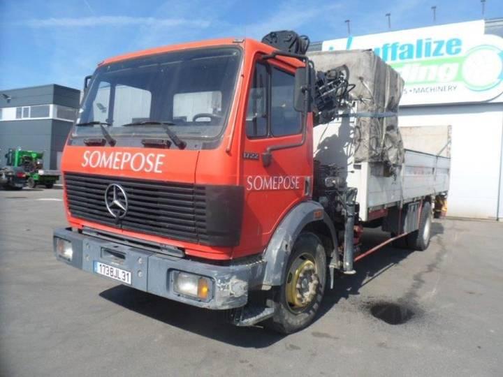 Mercedes-Benz 1722 manual - full steel - big axle - 1991