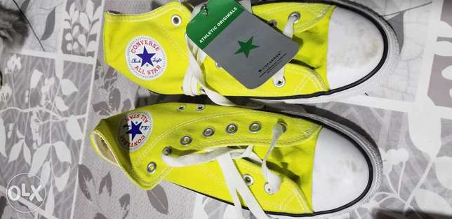 All Stars Converse coloured shoes 3 pc's