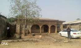 A 70% completed four bedroom flat for sale at bank road Ado Ekiti