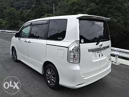 Toyota Voxy Fully Loaded