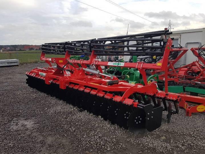 Top-Agro Grano Disc Harrow Shark 5,0 +tubular Roller 500mm - 2019