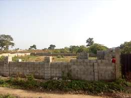 3 serial residential land for sale at CRD behind AMAC market Lugbe