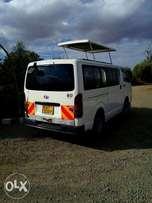 The car still in good condition and normally used as a tour van.