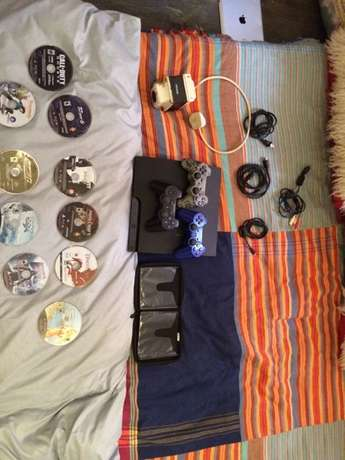 Play Station 3 from America for sale with 11 games & 3 remotes Langata - image 5