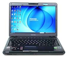 toshiba sattelite 320gb laptop