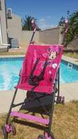 Hauck mini mouse stroller