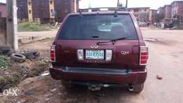 Clean Registered Nissan Qx4 2002 model