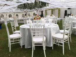 Alpine Tents , chaivari chairs and Decor