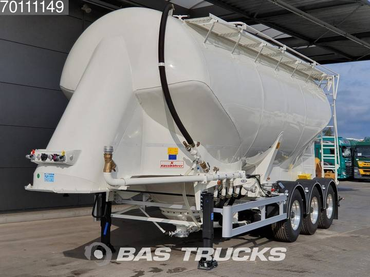 Kaessbohrer SSL-35 3 axles 35m3 / 1 / Liftachse - 2019