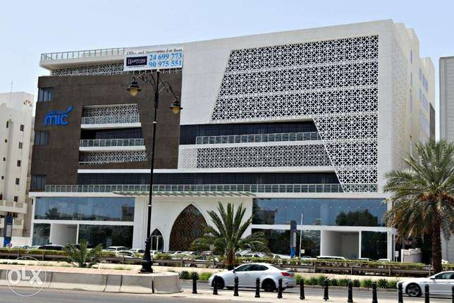 For Rent MIC TOWER- Al Khuwair Office units and showrooms